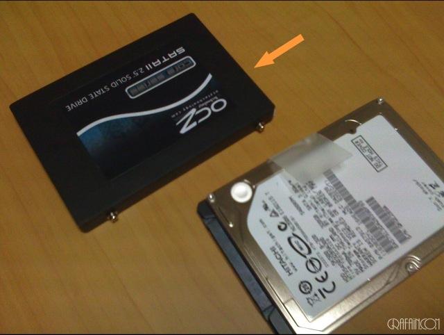 SSD。やっぱ速いよ姉さん!(笑)