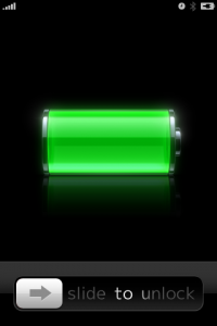 デフォルトのバッテリーチャージ。