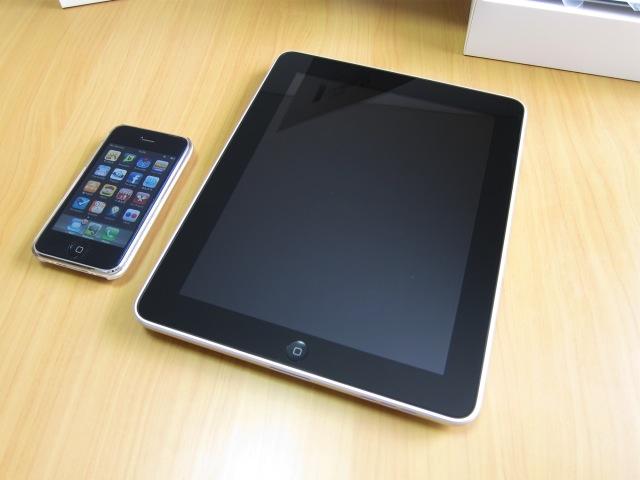 iPadから感じるiPhone 4Gへの期待感。