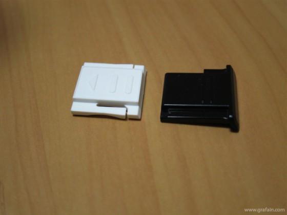 左が汎用品。右が NIKON 用