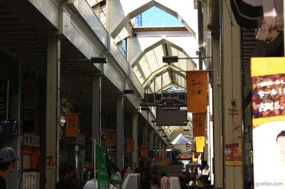 古町モール街。