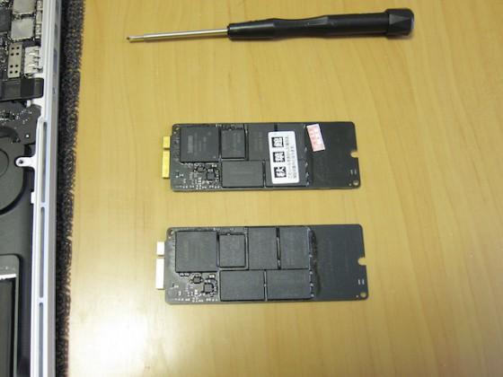 元の SSD との比較 1