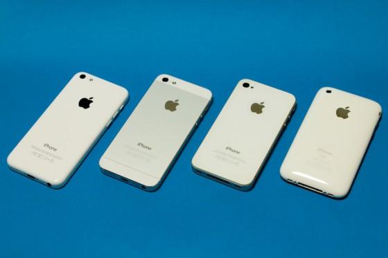 iPhone white 勢揃い♪