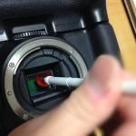 PENTAX イメージセンサークリーニングキット O-ICK1 を使ってイメージセンサーのお掃除をしてみる。