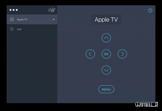 AppleTV を Mac からコントロールできる CiderTV